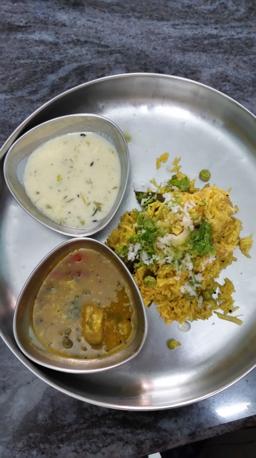 Masale Bhaat from Sujatha's kitchen