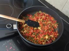 Saute for 3 - 4 mins